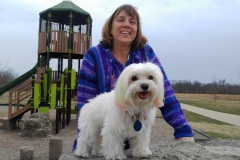 Carol and Pula at the Park