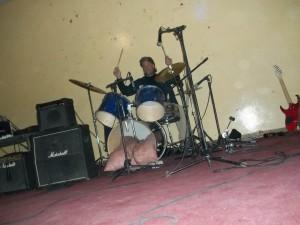 JM drum Solo at Ghanzi Metal Fest