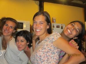 Julia, Alex, Caitlin, Supryia
