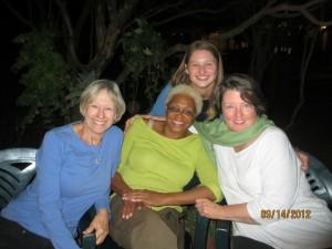 Jan, Karla, Celia, and Danielle.