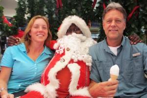 Santa in Gabs