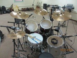 MCE Miked Drum Set 1