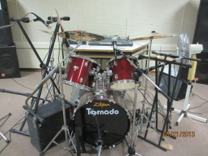 MCE Miked Drum Set 2