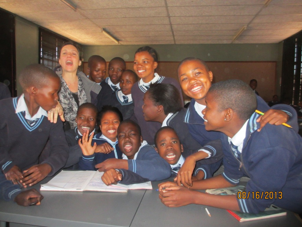 Teaching Social Studies at Kwena Sereto.